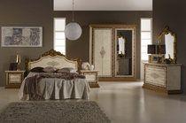 Italienisches Schlafzimmer ~ Schlafzimmer bella in weiss luxus italienische designer möbel