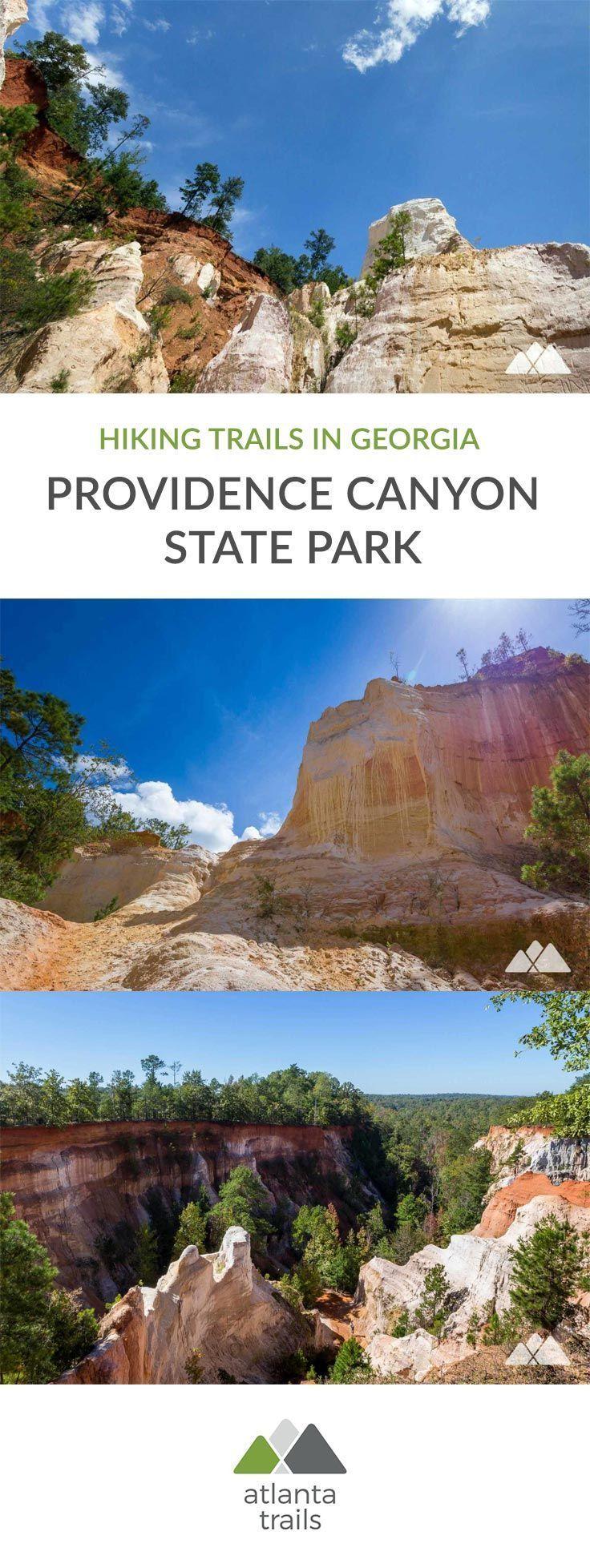 Providence Canyon State Park - #Canyon #Park #Providence #State #grandcanyon