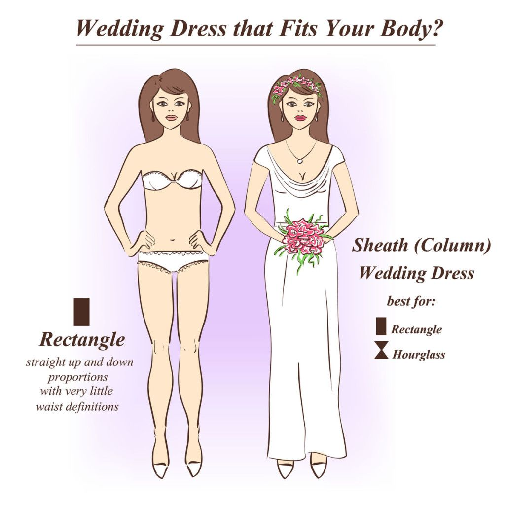 Sheath Shape Wedding Dress | 10.7.17 | Pinterest