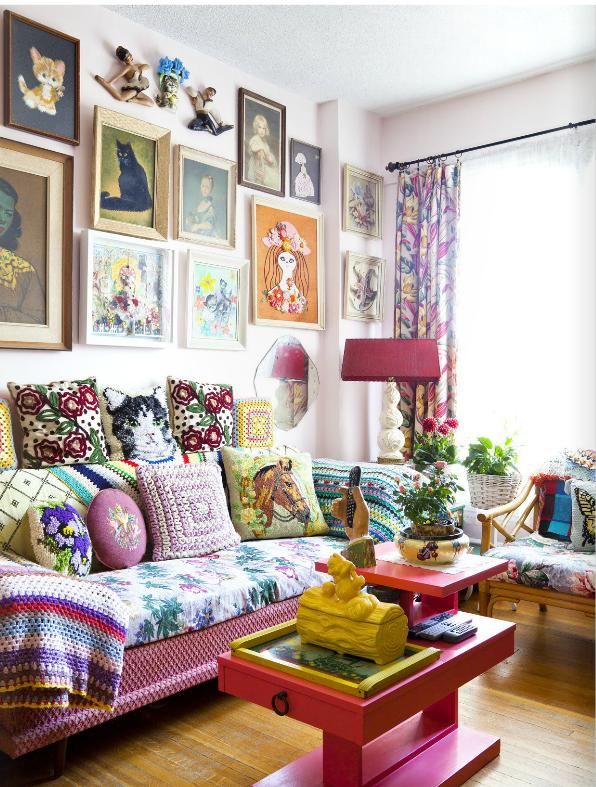 John's Living Room Covet Garden Issue 26, Sept. 2012 covetgarden.com