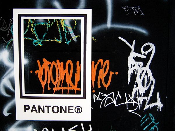 PANTONE® Street Project by michael ifland, via Behance