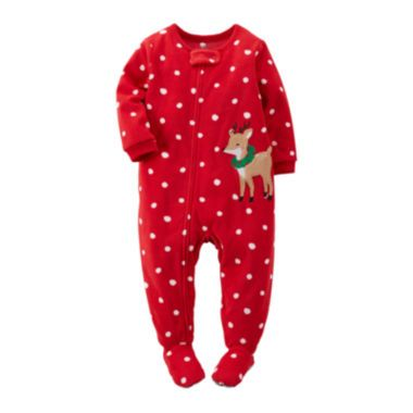 Carter's® Fleece Reindeer Pajamas - Toddler Girls 2t-5t  found at @JCPenney
