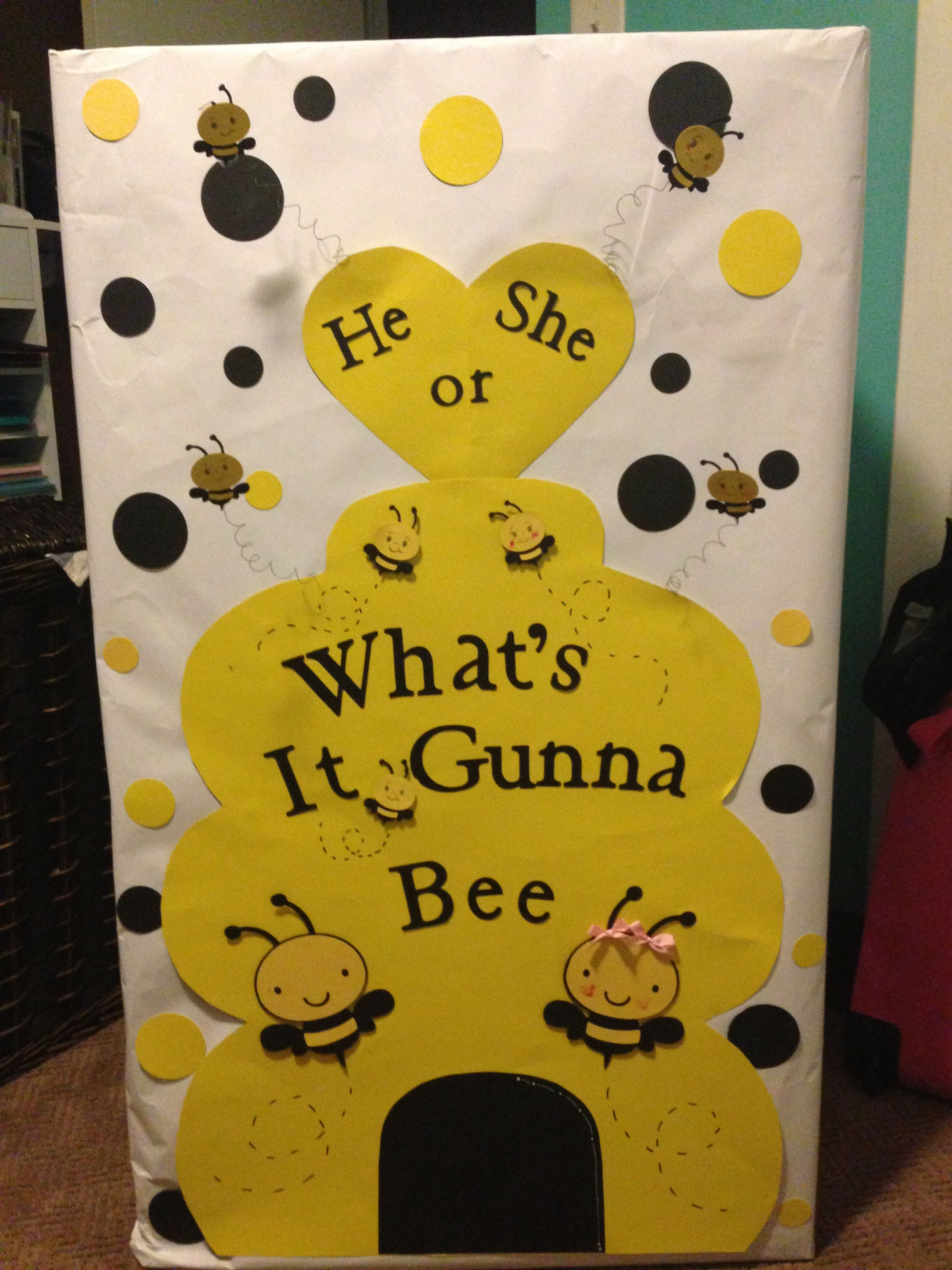 Pin By Tara Elizabeth On 3d Creations I Ve Made Bee Gender Reveal Baby Gender Reveal Party Baby Shower Gender Reveal