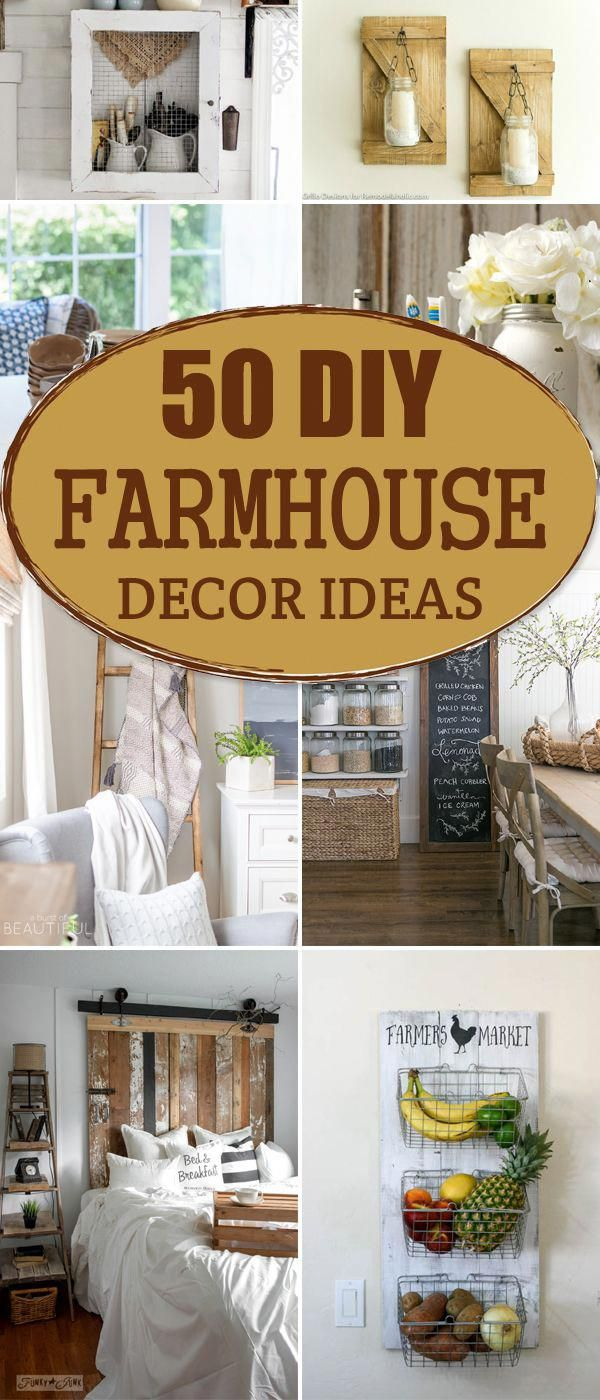 Gorgeous DIY Farmhouse Decor Ideas homedecordiyrustic Home