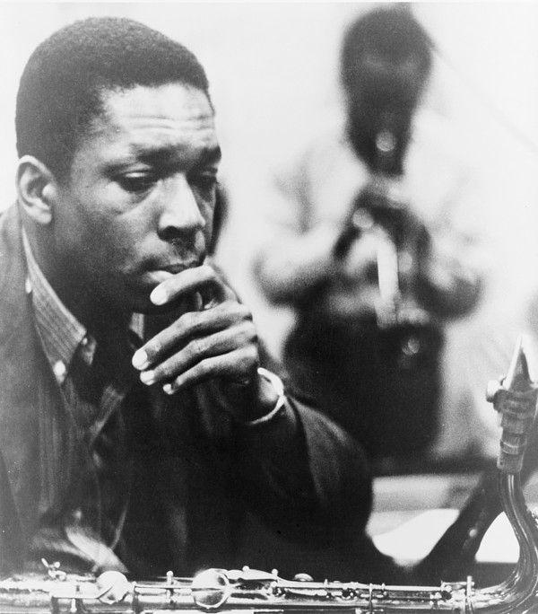 John Coltrane (1926-1967), master Jazz saxophonist, composer, and bandleader. 1960