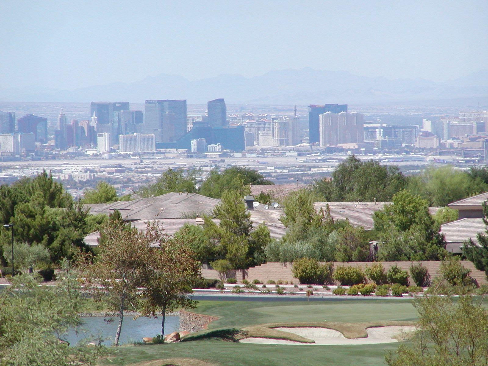 Golf course las vegas strip