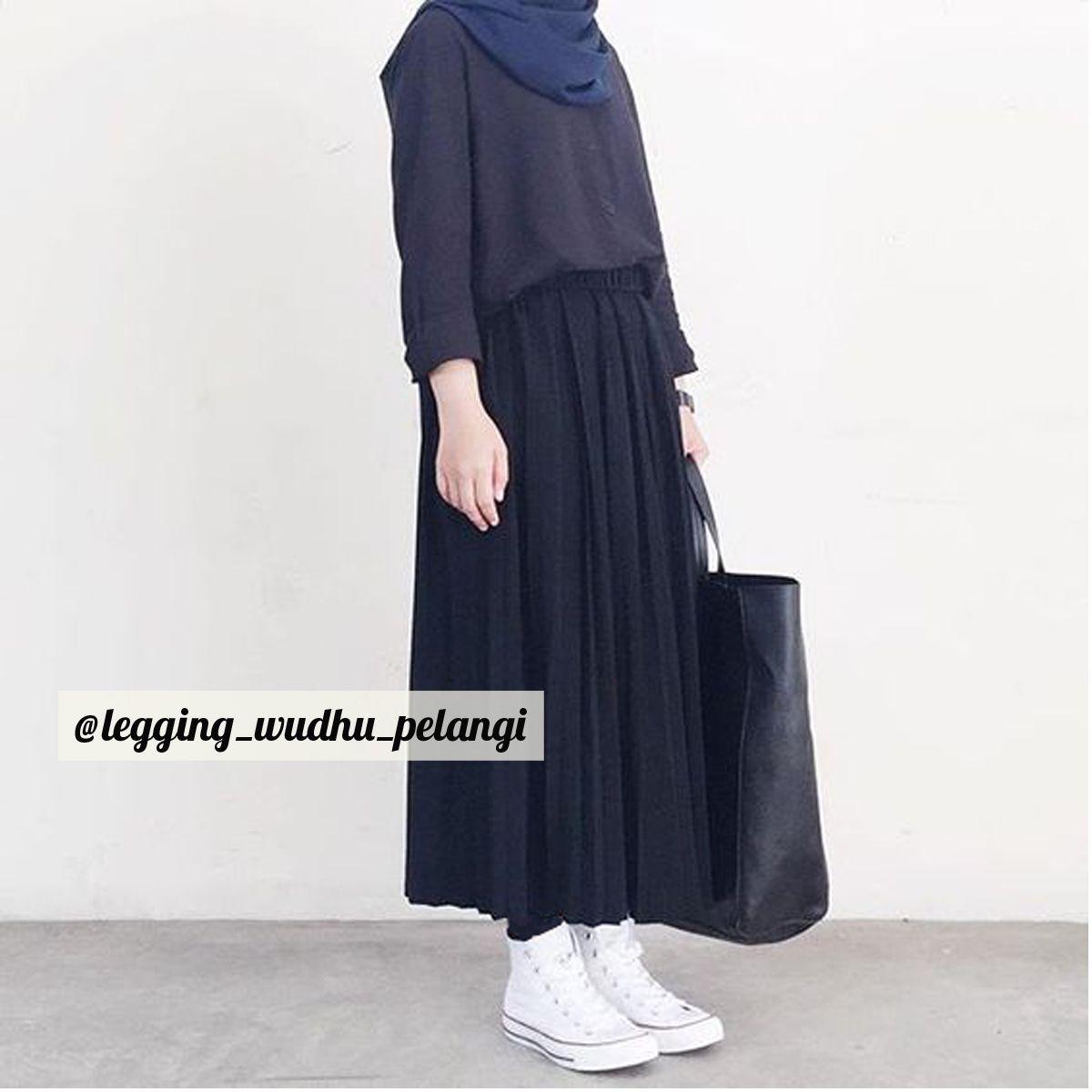 Pin On Legging Muslimah Legging Wudhu Pelangi