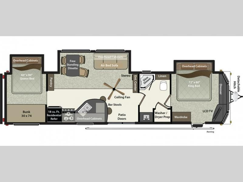 New 2016 Keystone Rv Residence 402bh Destination Trailer At Pleasureland Rv St Cloud Mn 1073 15 In 2020 Rv Floor Plans Keystone Rv Rv