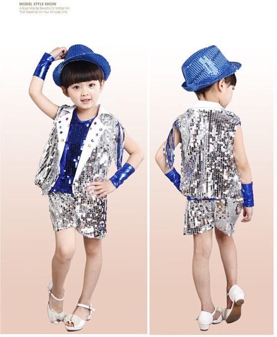 Traje de la danza hip hop B032 Jazz modern dance performance traje para boy hip hop dancewear performance juego de las muchachas trajes de Jazz en Salón de Novedad y de uso especial en AliExpress.com | Alibaba Group