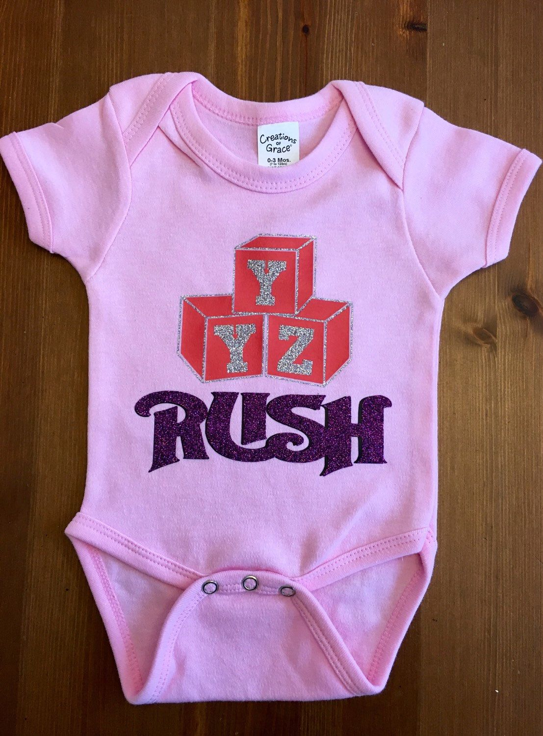 36df27619 Pin by K H on Baby R | Rush band, Onesies, Baby