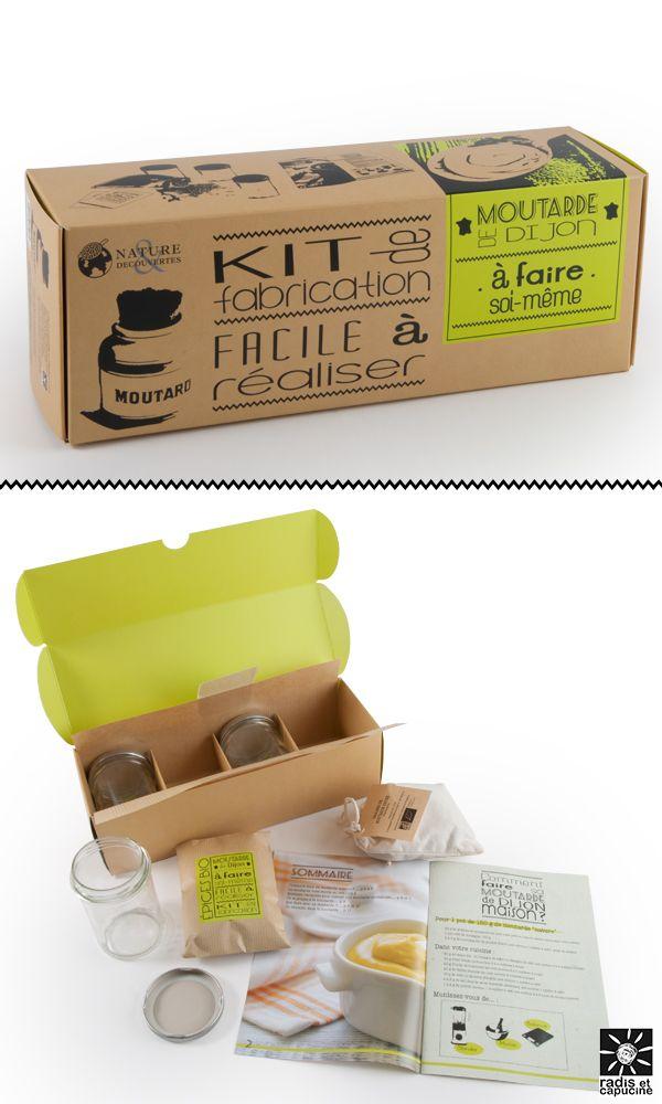 MOUTARDE de Dijon à faire soi-même Kit de fabrication, facile à