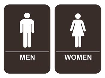 Ada Men S Women S Restroom Signs