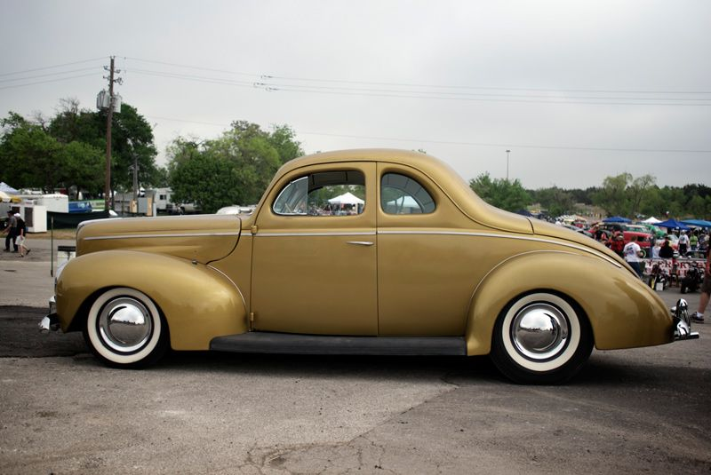 The Lone Star Round Up X 1940 Ford Coupe 1940 Ford Ford Hot Rod