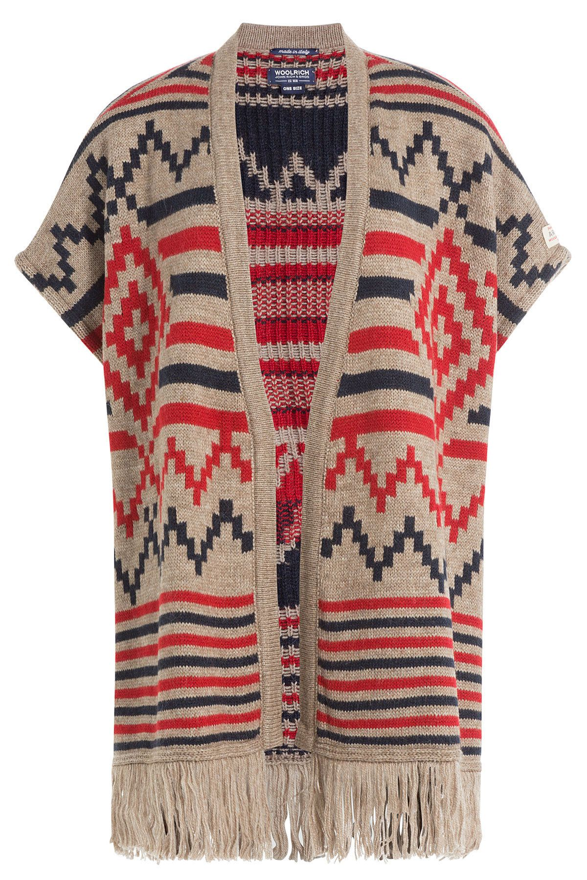 11c88b47af08d3 WOOLRICH WOOLRICH PRINTED CAPE WITH ALPACA AND WOOL. #woolrich #cloth #