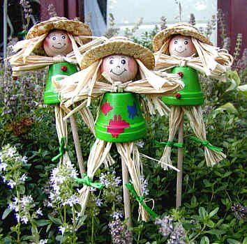 Tontopf-Figuren made by Bastelversand