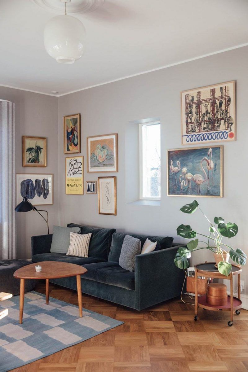 Inside A Creative And Personal Copenhagen Home Filled With Vintage
