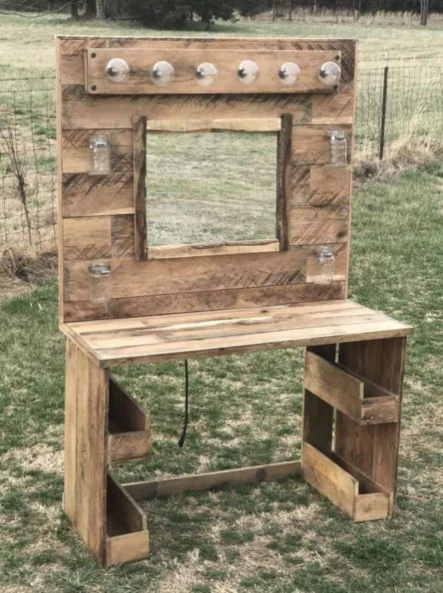 47 Magnificient Diy Pallet Project Furniture Ideas