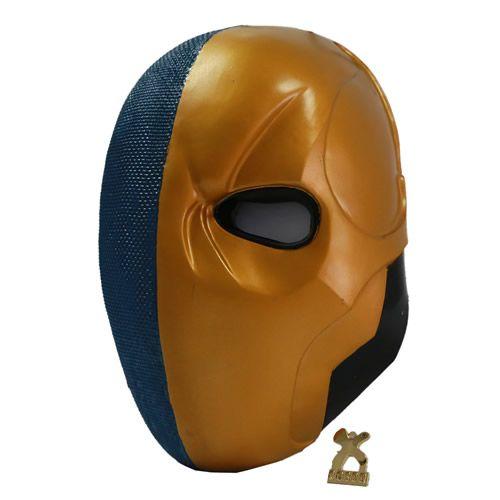 Assassin Deathstroke Mask Cosplay Helmet Batman Costume Props Arkham Origins New