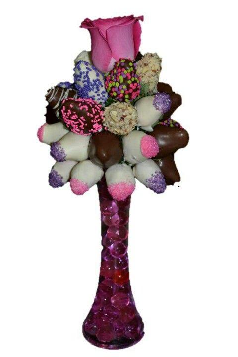 Bouquets Flores y Fresas