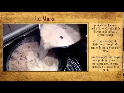 Como se hace una croqueta perfecta (vídeo)
