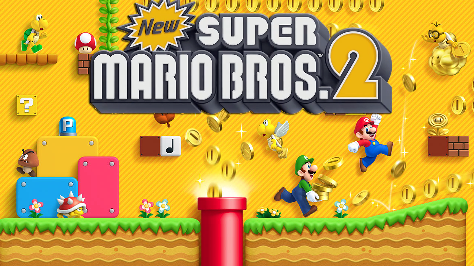 Wallpapers New Super Mario Bros 2 For Nintendo 3ds