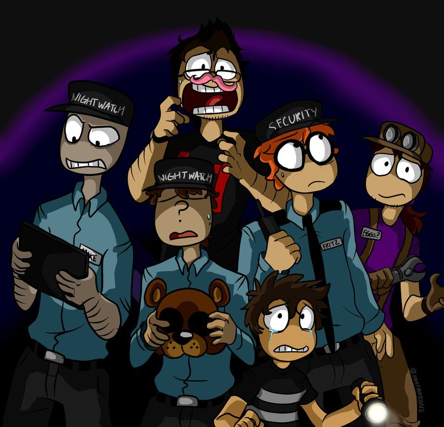 Markiplier and the FNAF Gang by FNAFNations | fnaf ... Markiplier Fnaf