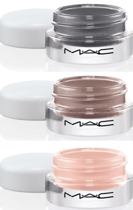 "M.A.C Cosmetic's 2011 Glitter & Ice Holiday Collection: Paint pots. Purchased ""For Effect"" & ""Let's Skate"". They're so glimmery & gorgeous!"