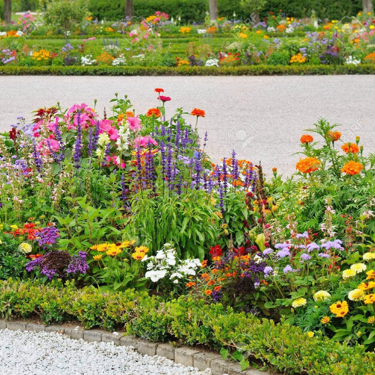 27 Flower Garden Designs For A Small Space Flower Garden Design
