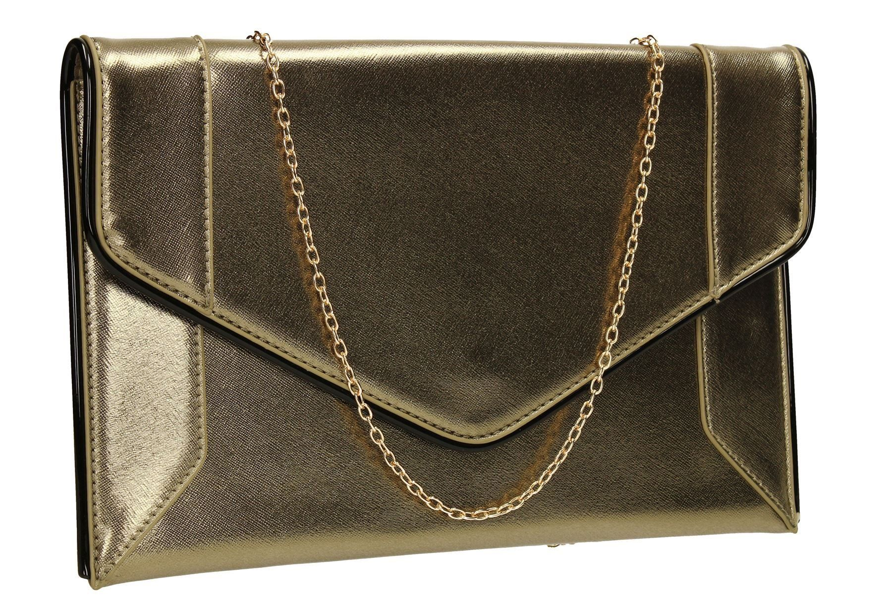 Merlin Metallic Grey Clutch -- Awesome products selected by Anna Churchill