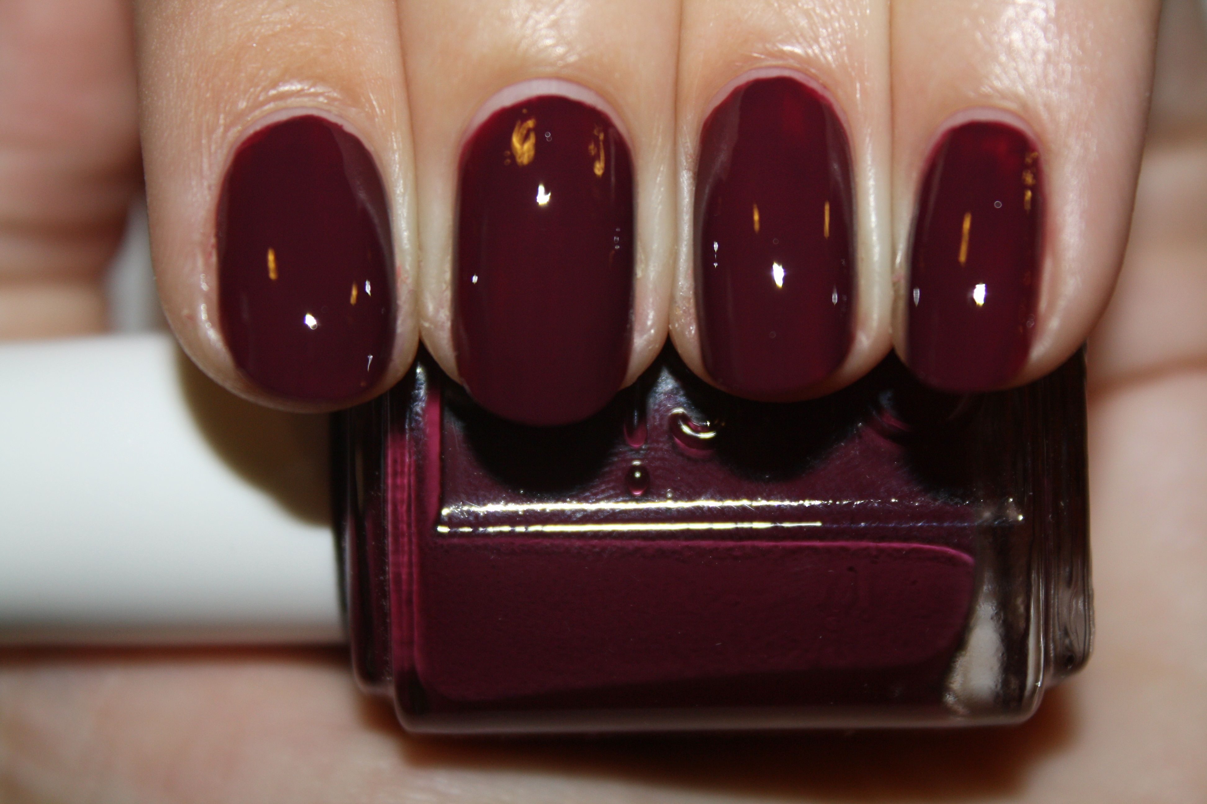 Essie Skirting The Issue - Dupe for Brilliant Bordeaux? | N A I L S ...