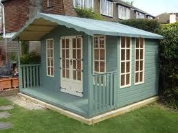 Painted Garden Sheds Google Search