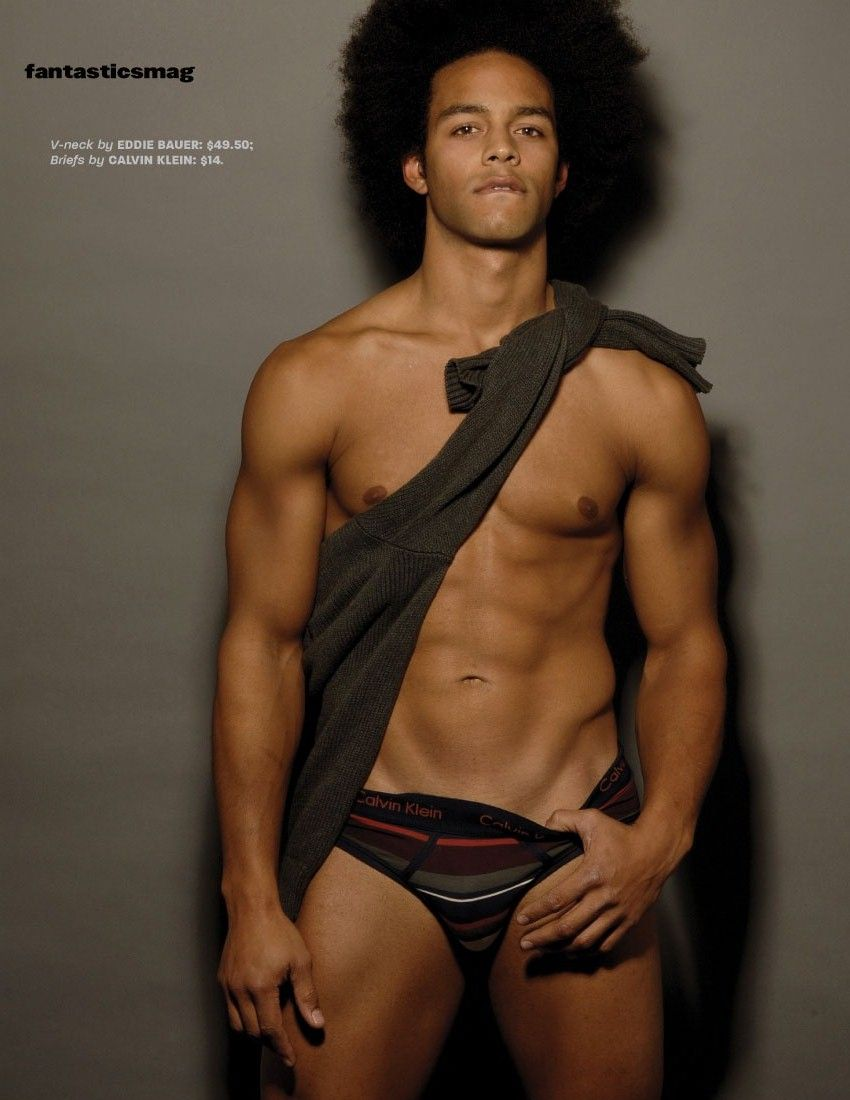 Quite Hot black male models