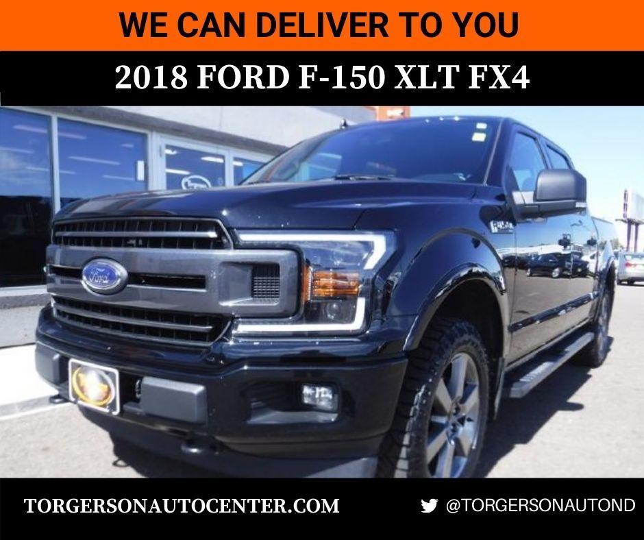 Free powertrain warranty! Loaded up 2018 FORD F150 XLT FX4