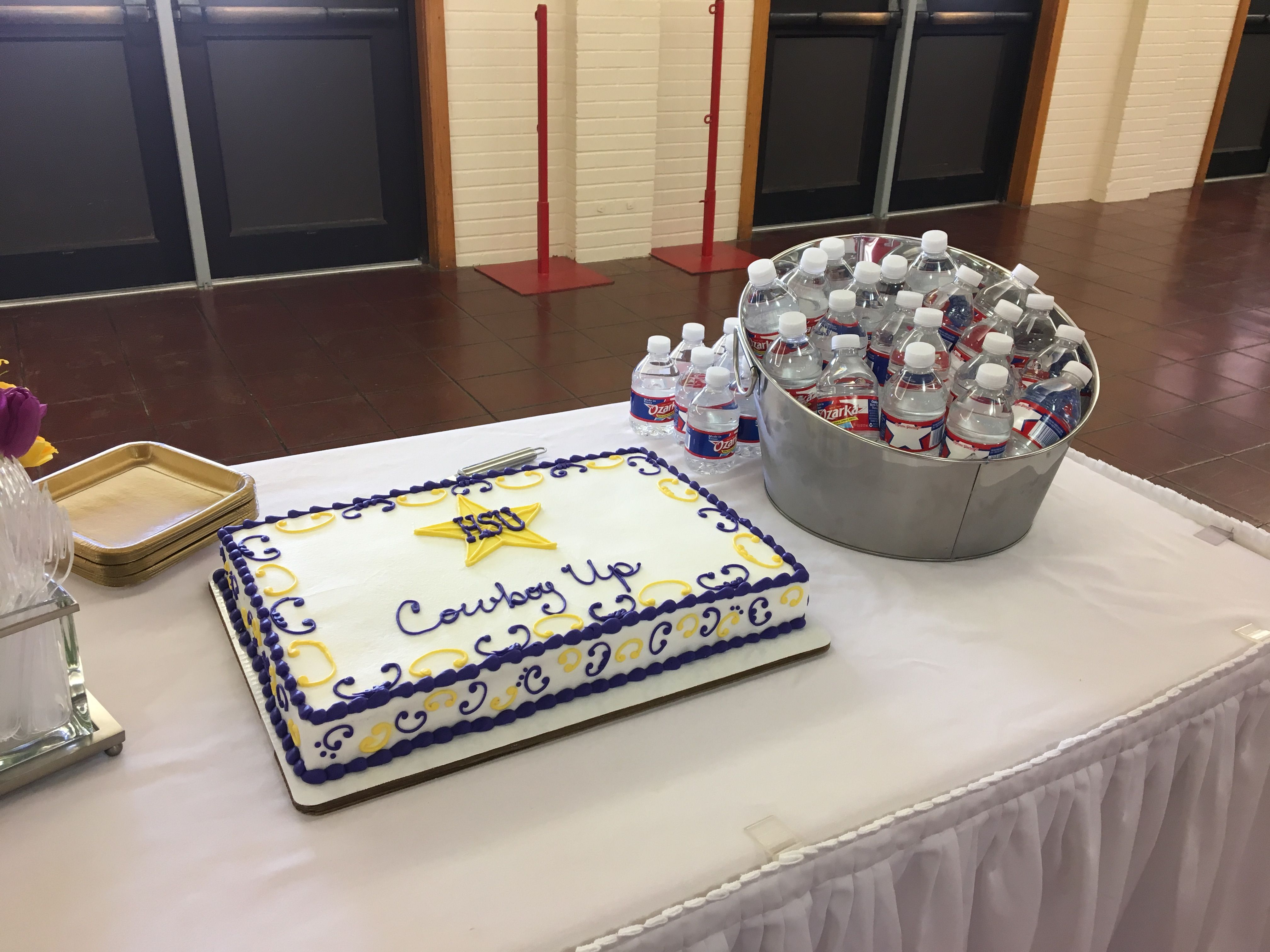 Hardin Simmons Signing Day And Cake Cake Food Hardin Simmons