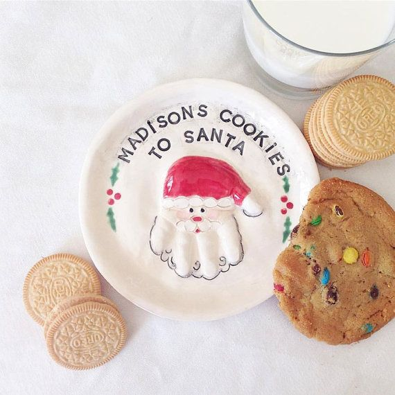 43++ Christmas cookie plate for santa inspirations
