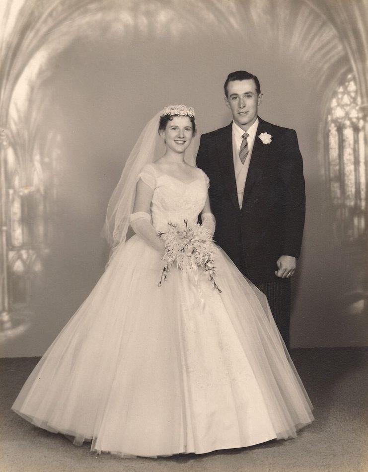 Vintagebrides1959 AlbertBrides Newlyweds Dorothy 50's And WDY2eEIH9