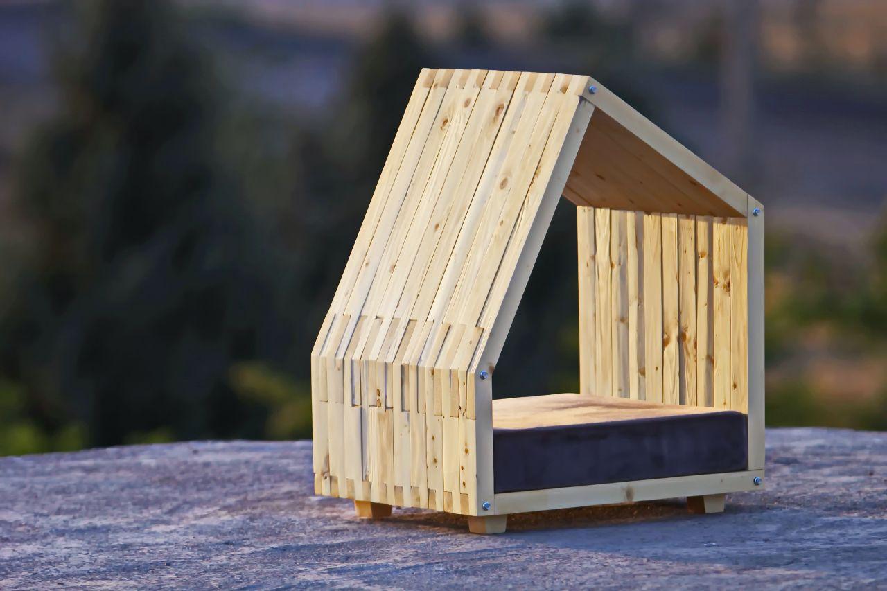 Modern Dog House From Lida Studio Modern Dog Houses Dog
