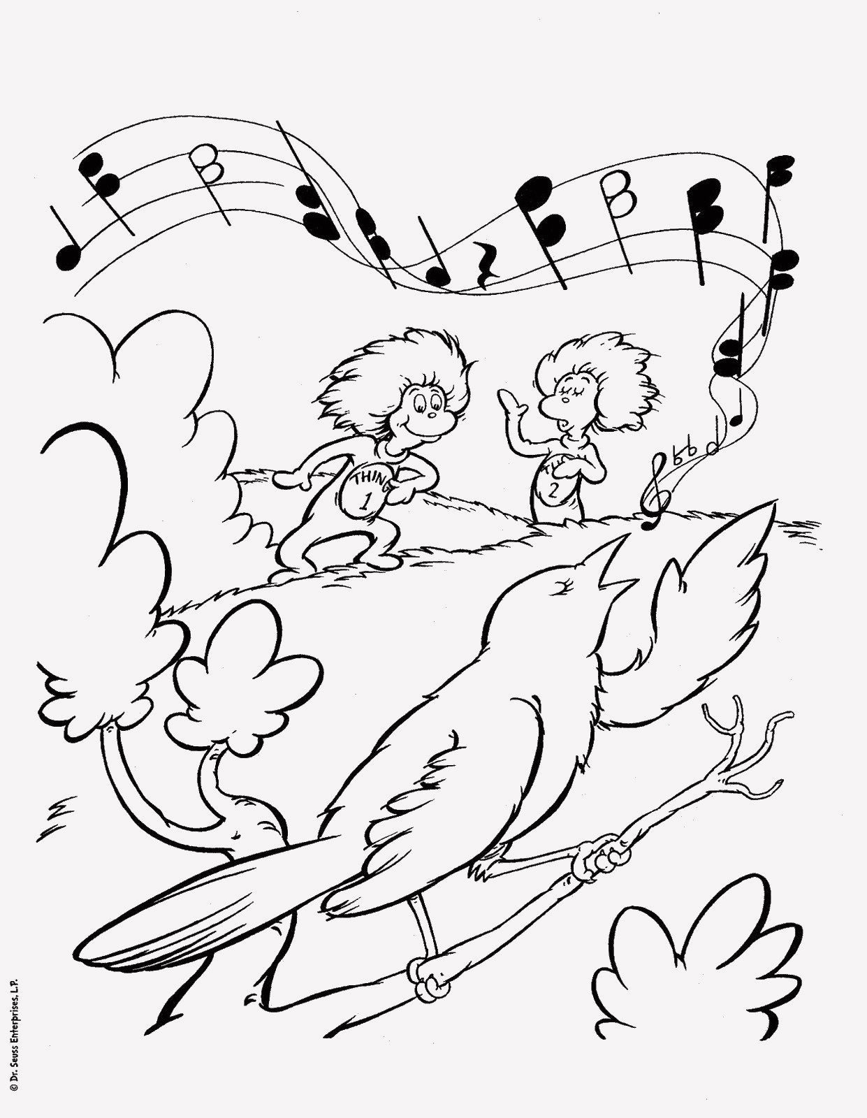 14 Dr Seuss Coloring Pages Happy Birthday In