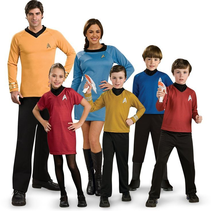 Star Trek Family Costumes from http//CostumeExpress.com