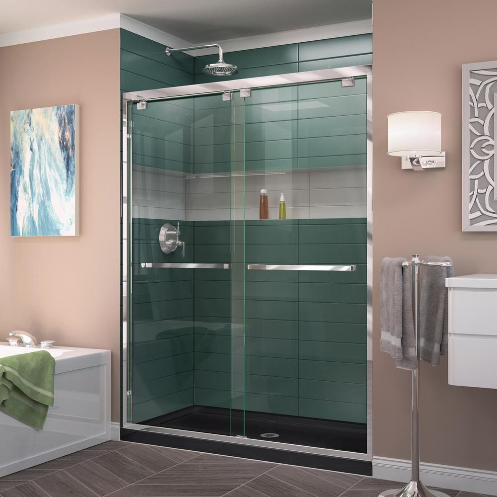 Dreamline Encore 34 In D X 48 In W X 78 75 In H Semi Frameless