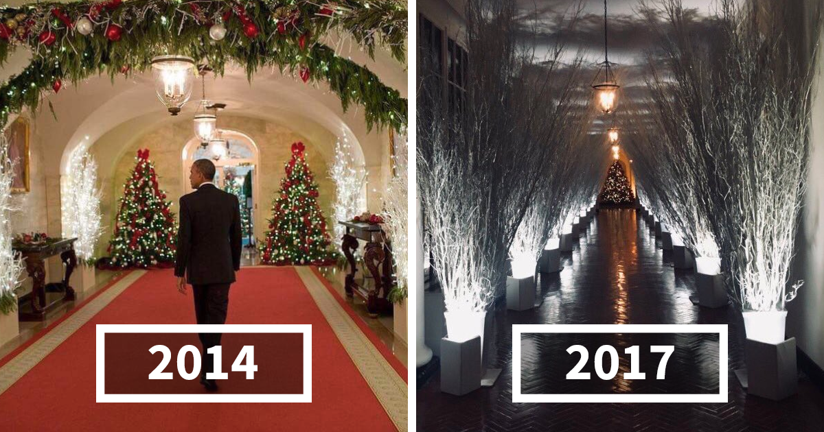 Whitehouse Christmas Decorations.64 Hilarious Reactions To Melania Trump S Creepy White