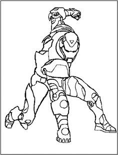 ironman coloring pages - Google Search | Comic Book Art ...