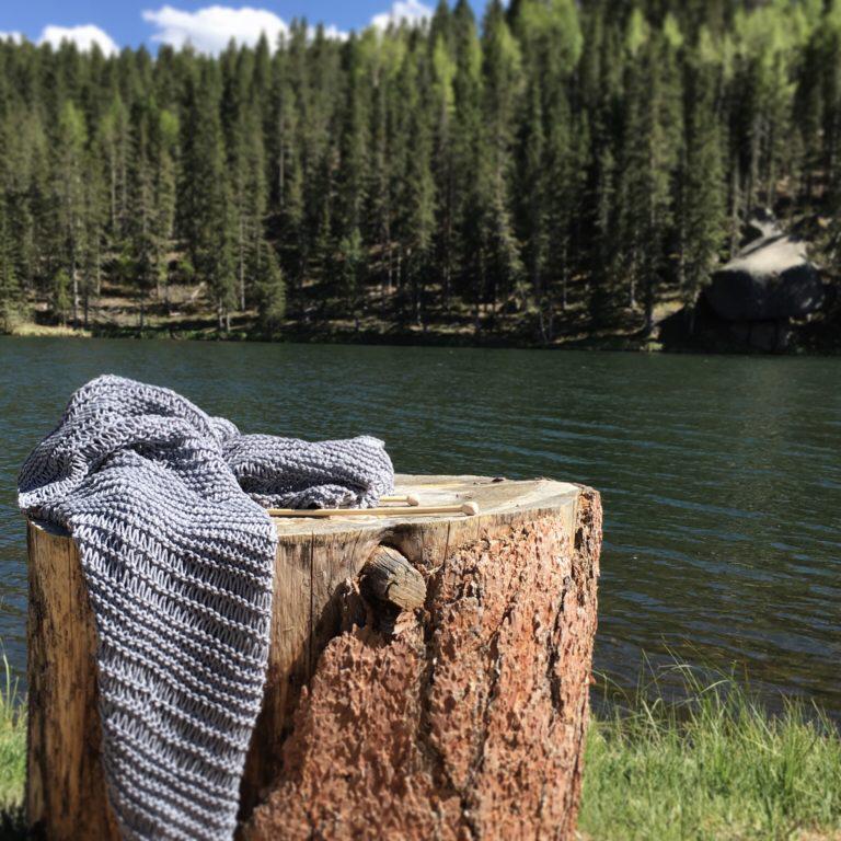 Easy Knit Blanket Sweater Pattern #blanketsweater Easy Knit Blanket Sweater Pattern – Mama In A Stitch #blanketsweater