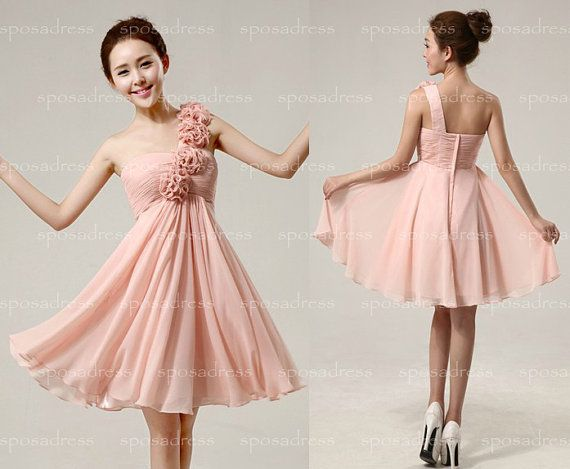Cheap Bridesmaid Dress Blush Bridesmaid Dress Junior By
