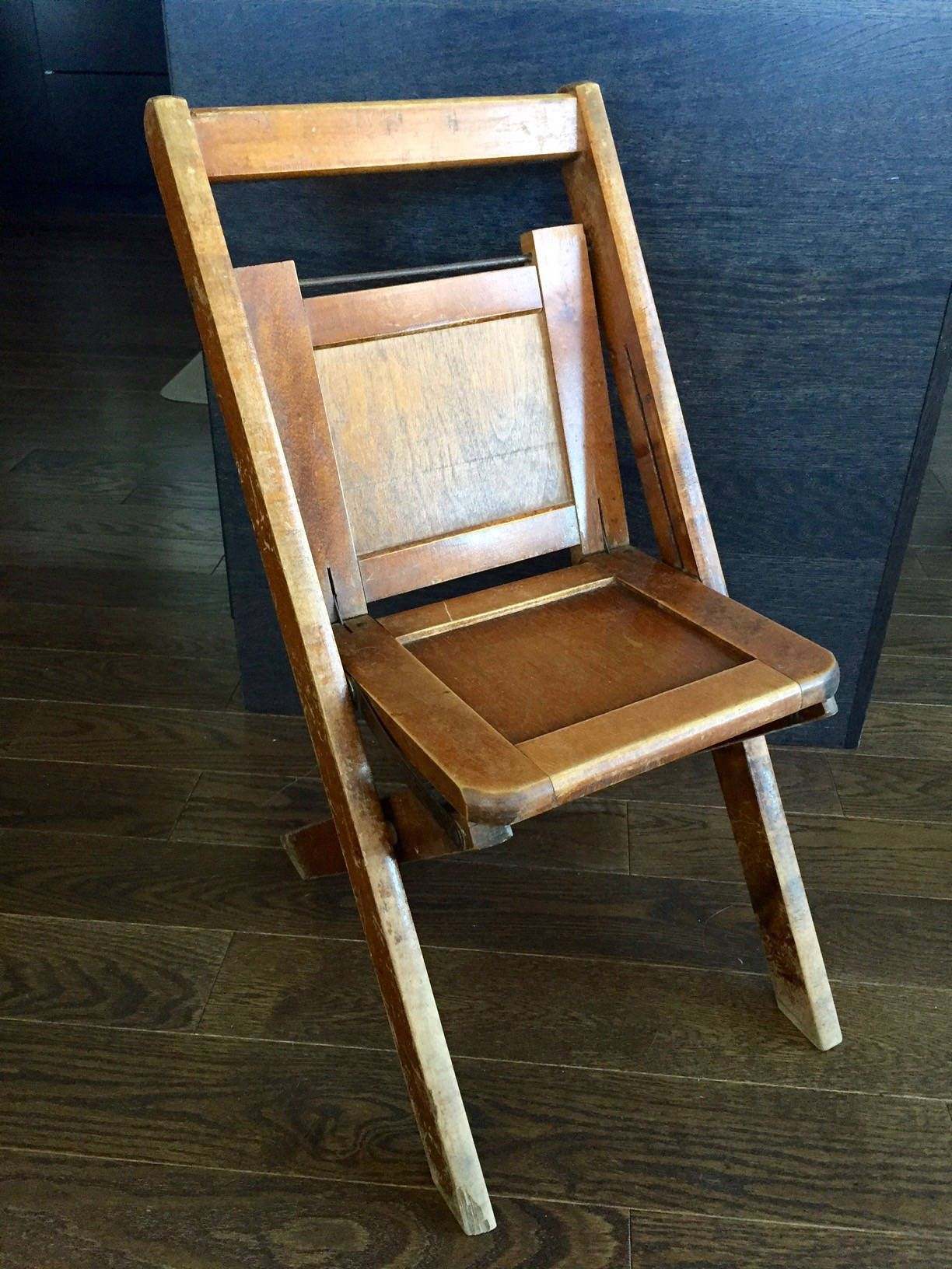 Vintage CHILD S FOLDING CHAIR Sunday School Chair Child s School