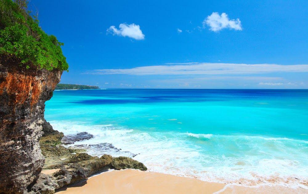 Foto Pemandangan Pantai Kuta Bali Pantai Cenang Bali Pantai
