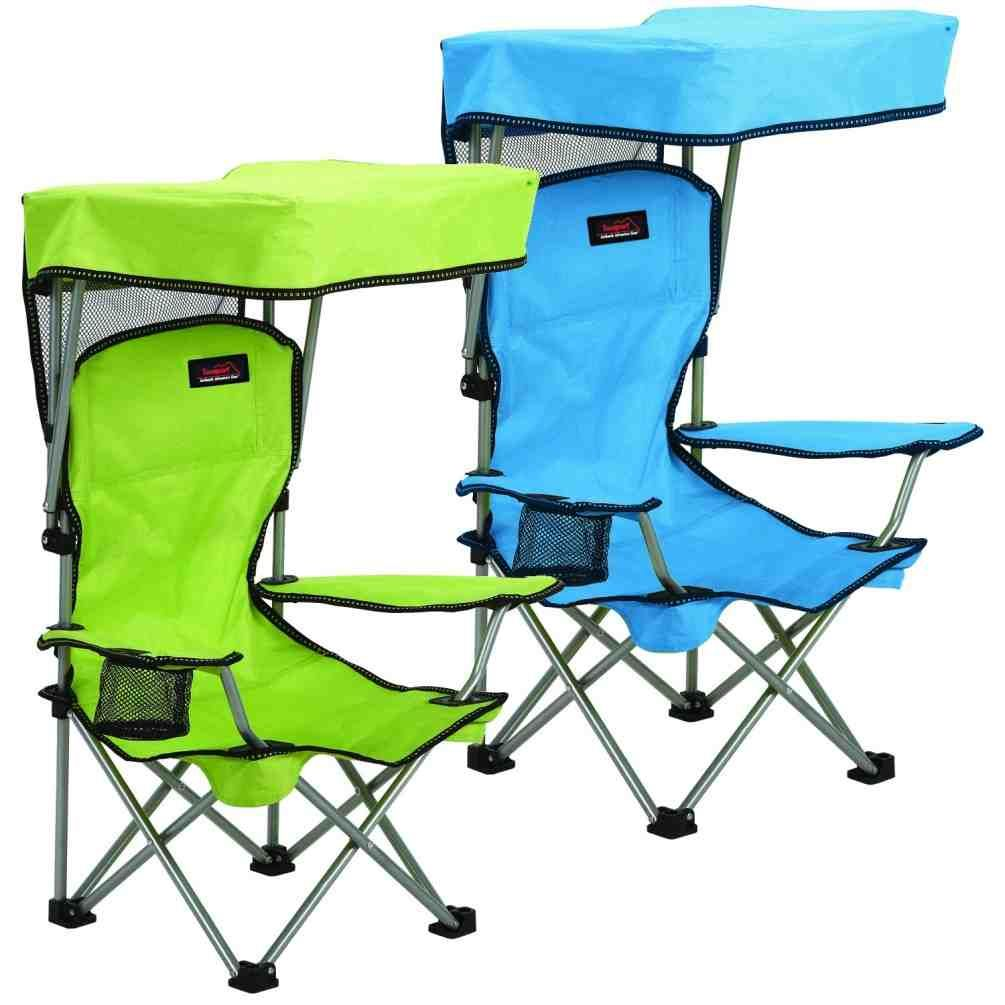 Camping chairs with umbrella - Outdoor Folding Chair With Canopy