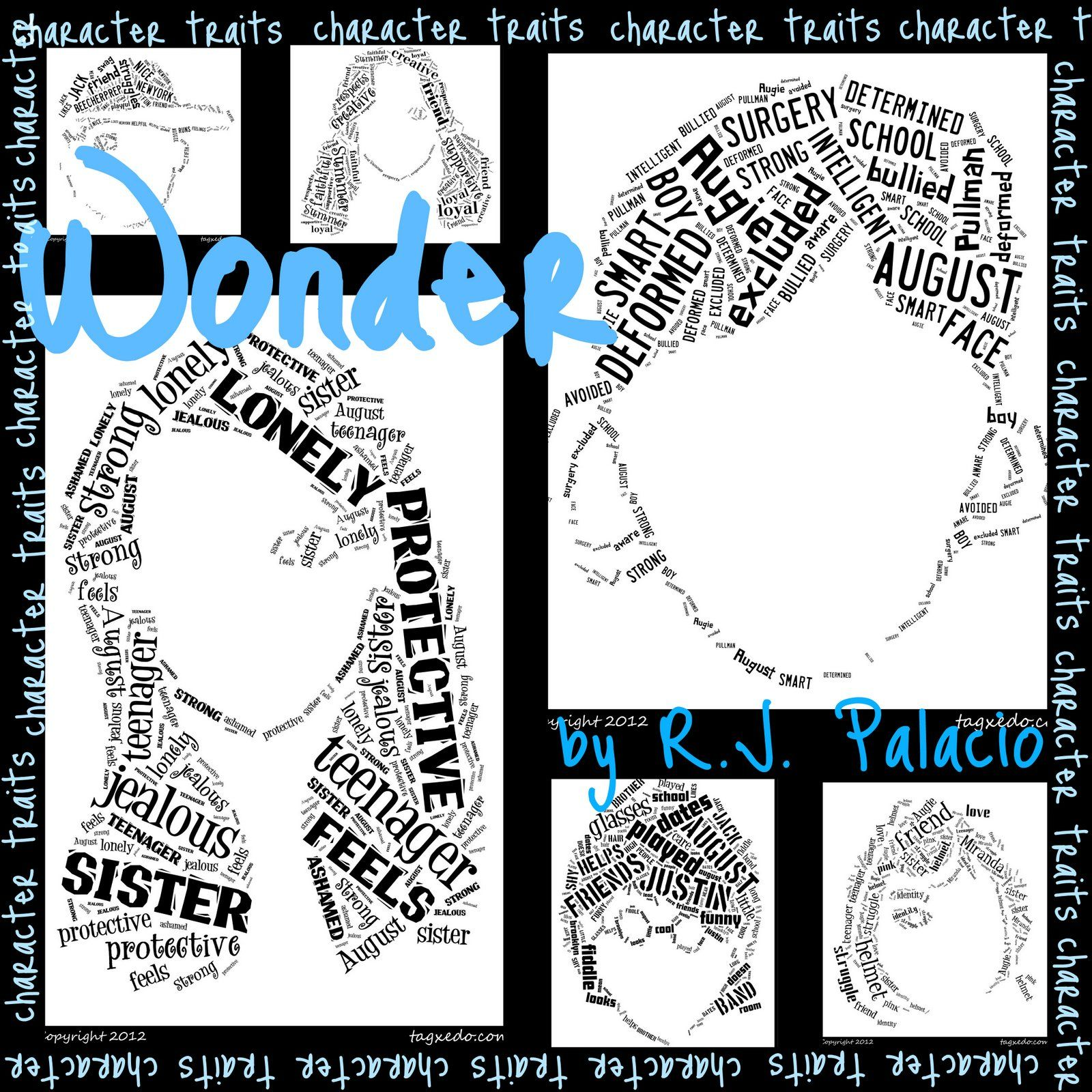 After Reading Wonder By R J Palacio Students Worked In