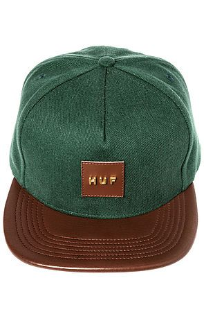 The Metal Original Logo Snapback in Forest
