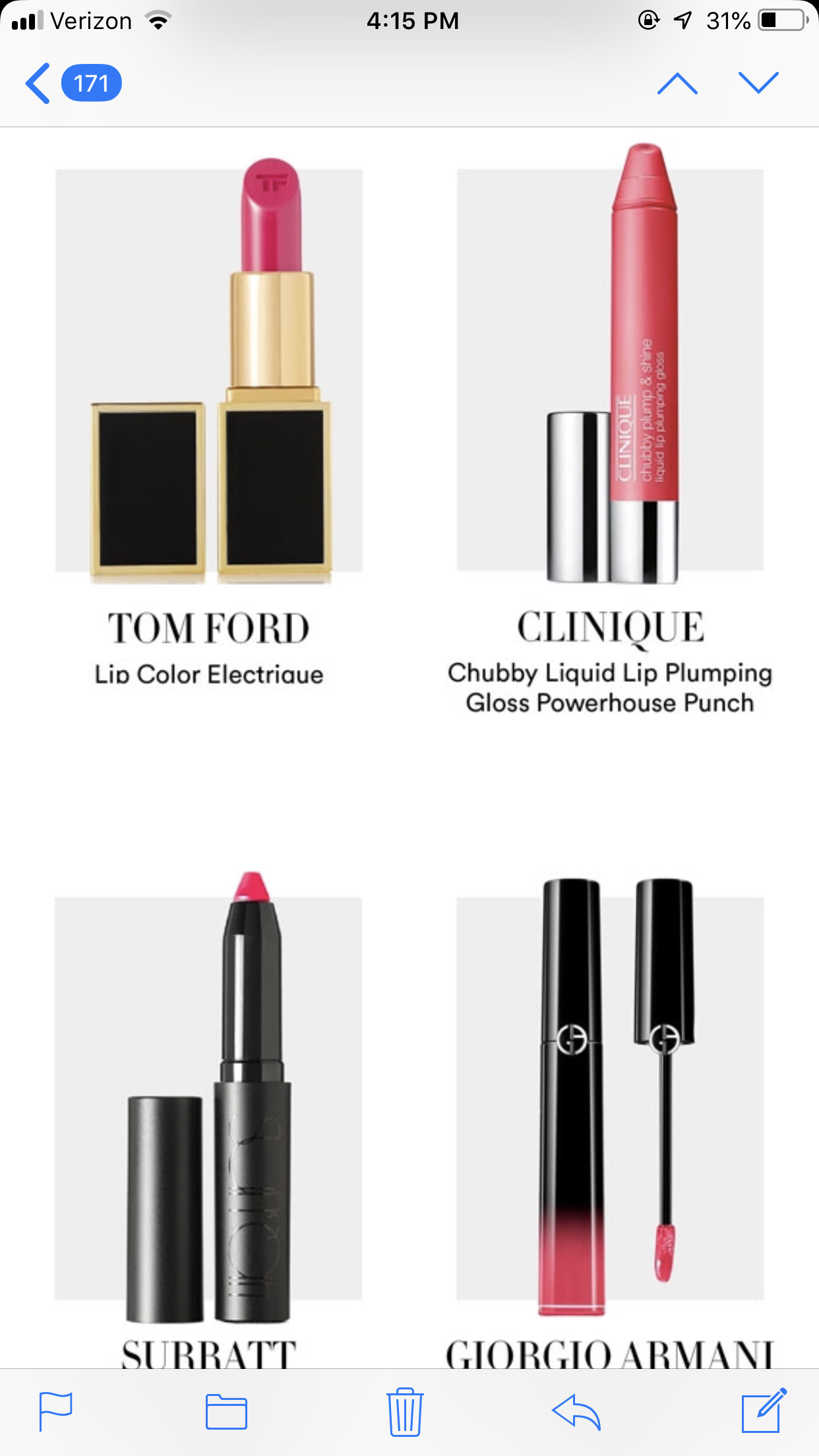 Pin by Liz Wolfe on beauty Clinique lip, Lip colors